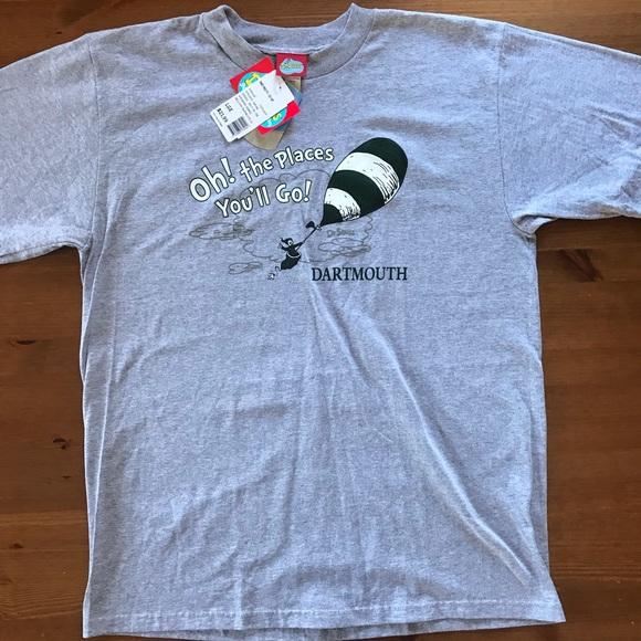 NEW Dartmouth College Dr. Seuss themed T shirt
